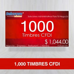 1,000 Timbres CFDI